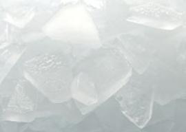 Flake ice snowkey