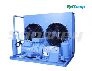 AP & WP compound Piston Compressor-Condenser Unit